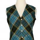 52 Size Anderson Biased Pattern 5 Buttons Tartan Waistcoat / Kilt Vest For Men