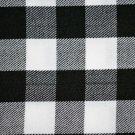 White & Black Rob Roy Premium Handmade Scottish Tartan Kilt Flashes Garters/+100 Tartan