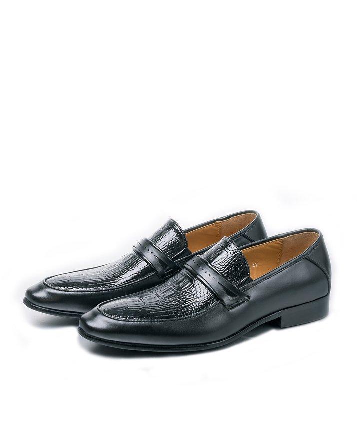 Premium Leather Handmade Formal Shoes For men ST-1921 Black
