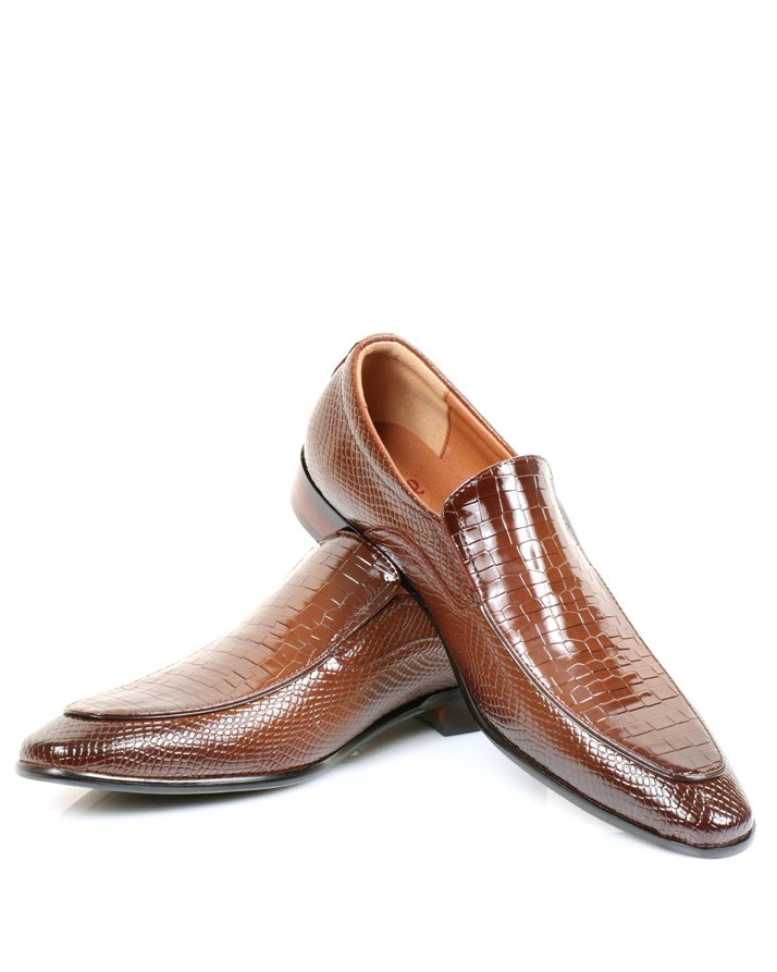 Premium Leather Handmade Formal Shoes For men ST-1923 Brown