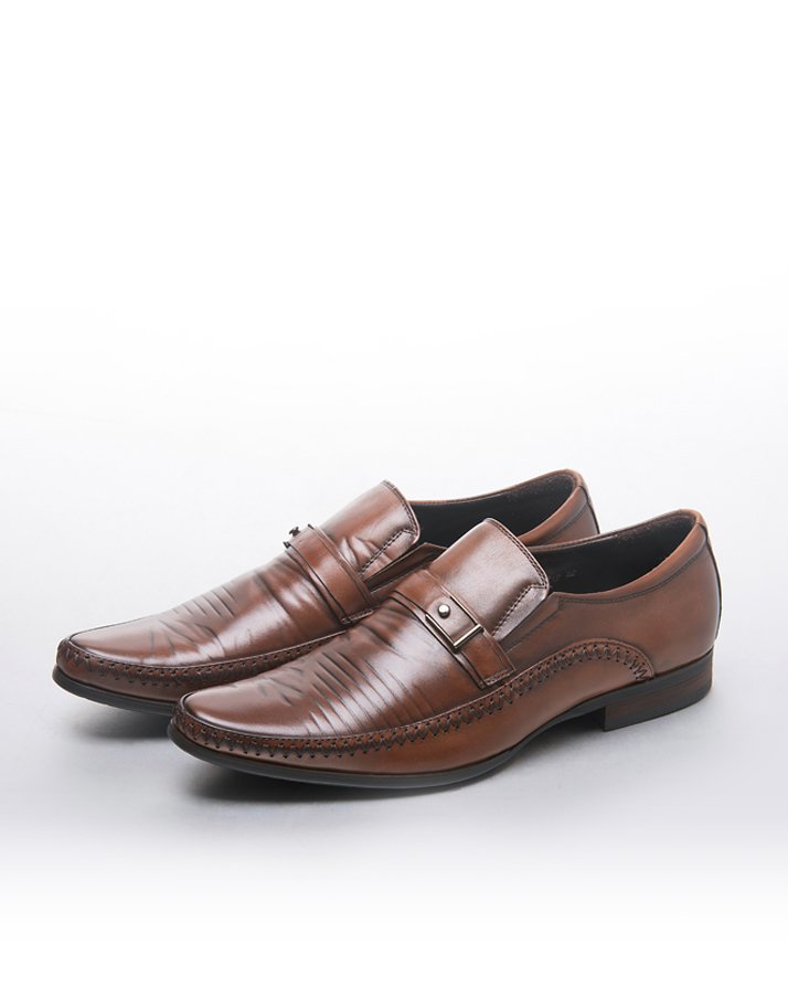 Premium Leather Handmade Formal Shoes For men ST-1924 Brown