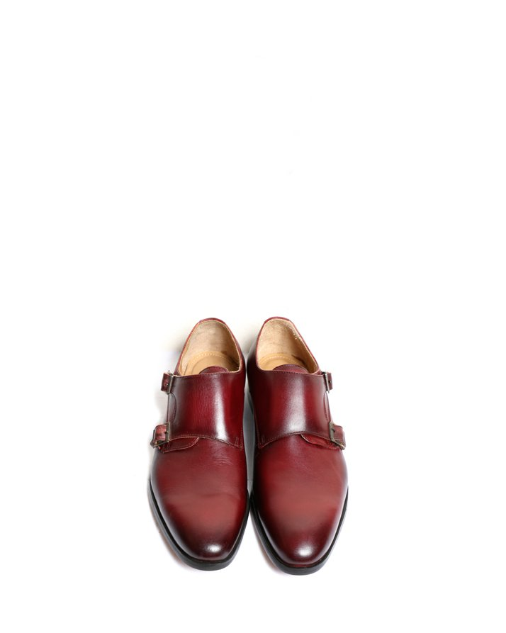 Premium Leather Handmade Formal Shoes For men ST-1927 Maroon