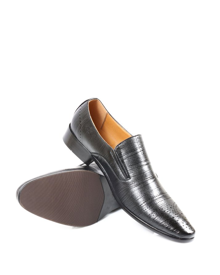 Premium Leather Handmade Formal Shoes For men ST-1931 Black