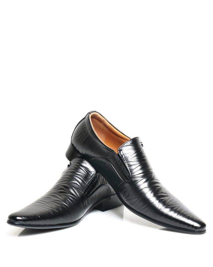 Premium Leather Handmade Formal Shoes For men ST-1932 Black