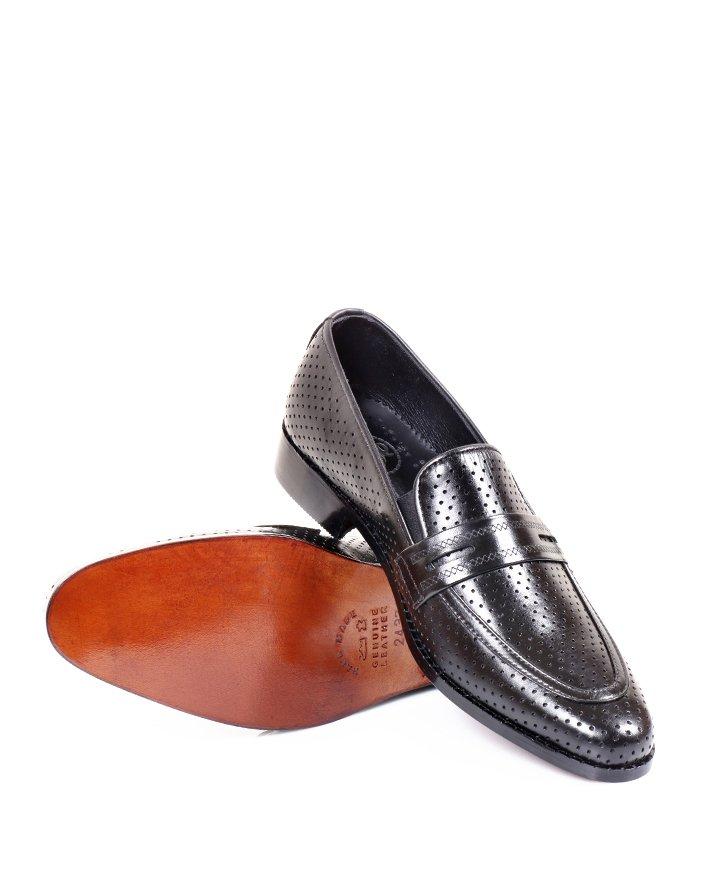 Premium Leather Handmade Formal Shoes For men ST-1936 Black