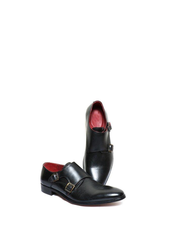 Premium Leather Handmade Formal Shoes For men ST-1938 Black
