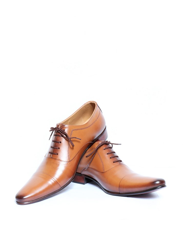 Premium Leather Handmade Formal Shoes For men ST-1942 Brown