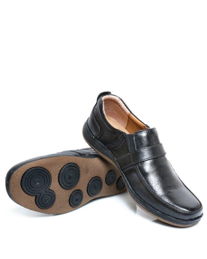 Premium Leather Handmade Formal Shoes For men ST-1946 Black