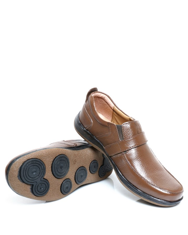 Premium Leather Handmade Formal Shoes For men ST-1947 Brown