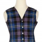 36 Size Pride of Scotland Traditional Scottish 5 Buttons Tartan Waistcoat / Plaid Vest