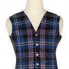 42 Size Pride of Scotland Traditional Scottish 5 Buttons Tartan Waistcoat / Plaid Vest