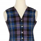 50 Size Pride of Scotland Traditional Scottish 5 Buttons Tartan Waistcoat / Plaid Vest