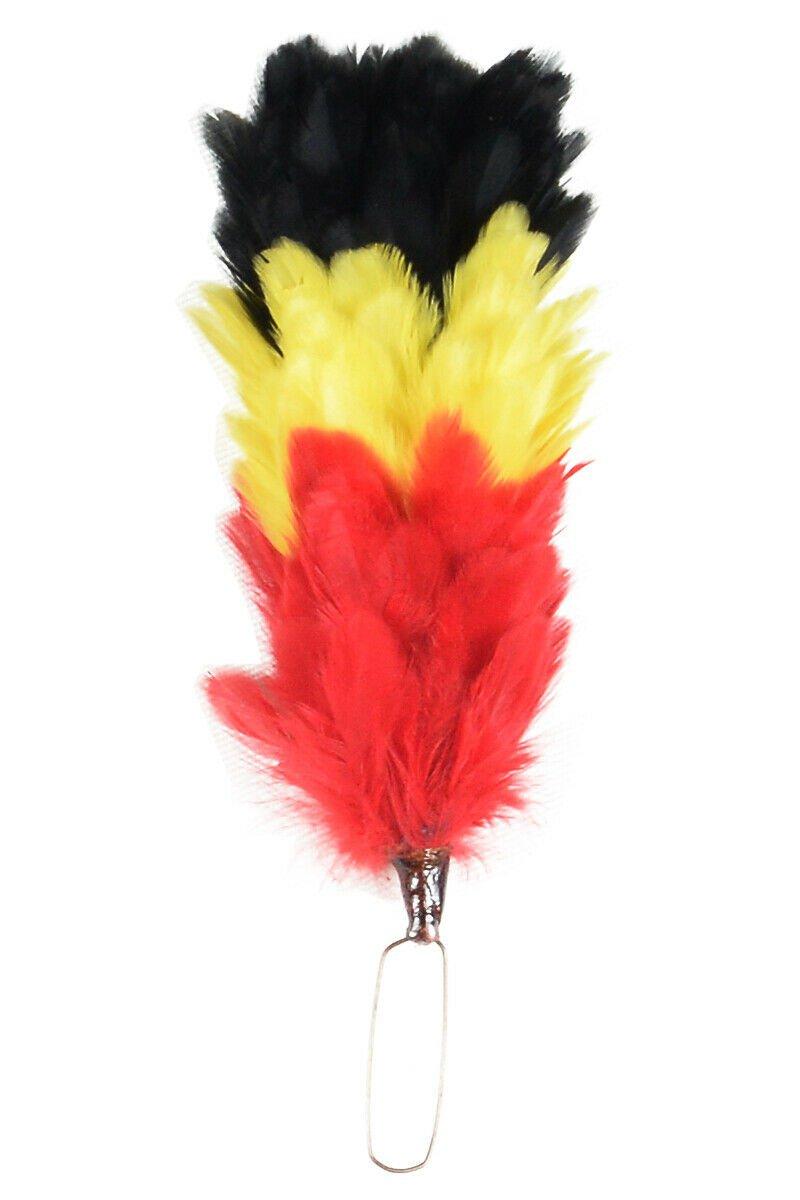 Premium Feather Bonnet Hackle For BALMORAL & Glengarry Hats / Kilt Cap