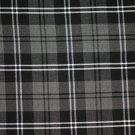 Premium Handmade Scottish Military Piper Clan Tartan Glengarry Hat/Kilt Cap / Granite