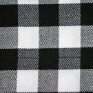 Premium Handmade Scottish Military Piper Clan Tartan Glengarry Hat/Kilt Cap / Black & White Rob Roy