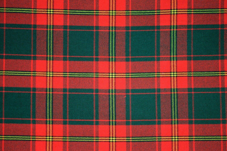 Premium Handmade Scottish Military Piper Clan Tartan Glengarry Hat/Kilt Cap / Ulster Red