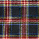 Premium Scottish Highlander Military Piper Tartan BALMORAL Bonnet Hat / KILT CAP Black Stewart