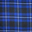 Premium Scottish Highlander Military Piper Tartan BALMORAL Bonnet Hat / KILT CAP Ramsey Blue