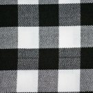 Premium Scottish Highlander Military Piper Tartan BALMORAL Hat / KILT CAP White & Black Rob Roy