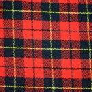 Premium Scottish Highlander Military Piper Tartan BALMORAL Bonnet Hat / KILT CAP Wallace
