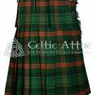 Handmade - Scottish 8 Yard TARTAN KILT - 16 Oz Acrylic Fabric - Ross Hunting 48 waist
