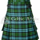 Campbell Ancient - Scottish TARTAN UTILITY Modern KILT for Men - 16 Oz Acrylic 38 waist