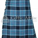 Premium - Scottish 8 Yard TARTAN KILT - 16 Oz Acrylic Fabric - US Navy Tartan 36 waist