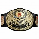 WWF Smoking Skull World Heavyweight Wrestling Championship Belt.SNAKE SKIN BACK