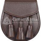 Brown Leather Sporran
