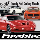 Pontiac Firebird Metal Sign 12.5x17