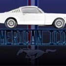 Ford Mustang American Icon Metal Sign 12x16