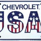 Chevrolet USA 1  Metal License Plate