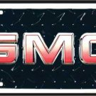 GMC Black Diamond  Metal License Plate
