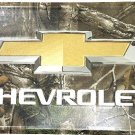 Chevrolet Realtree Camoflauge License Plate