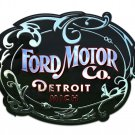 Ford Motor Company Detroit  Mirror Sign 14x14