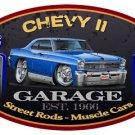 1966-1967 Chevy II Nova Classic Garage Mirror Sign 14x14