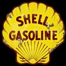 Shell Gas And Oil Garage Mirror Sign 14x14