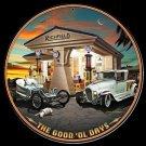 Richfield Oil Garage Mirror Sign 14x14