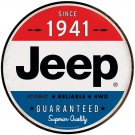 Jeep Since 1941 Garage Mirror Sign 14x14