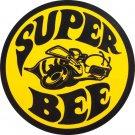 Super Bee Garage Mirror Sign 14x14