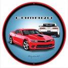 Chevy Camaro Garage Mirror Sign 14x14