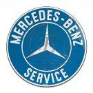 Mercedes Benz Garage Mirror Sign 14x14