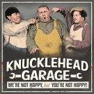 Three Stooges Knucklehead Garage Mirror Sign 14x14