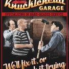 Knucklehead Garage Three Stooges Mirror Sign 14x14
