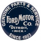 Ford Motor Company Parts and Service Garage Mirror Sign 14x14