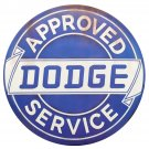 Approved Dodge Service Mirror Sign 14x14