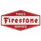 Firestone Tires Mirror Sign 14x14