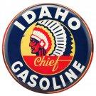 Idaho Gasoline Mirror Sign 14x14