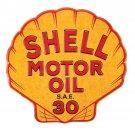 Shell Motor Oil Mirror Sign 14x14