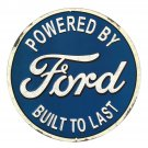 Ford Built To Last Mirror Sign 14x14